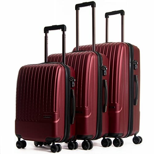 Calpak luggage review - Davis 3 piece set