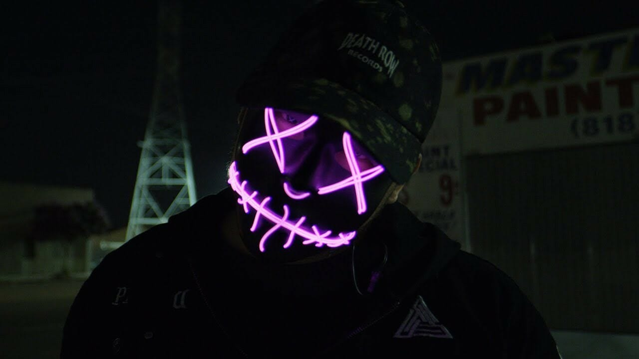 Purge LED Rave Mask